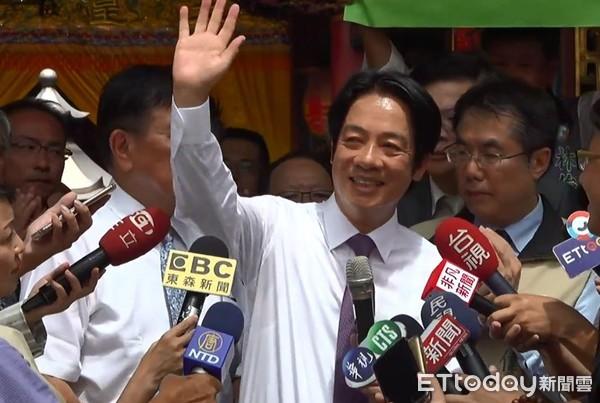 初選後首公開行程!賴清德鞠躬謝支持者:為台灣的心不變