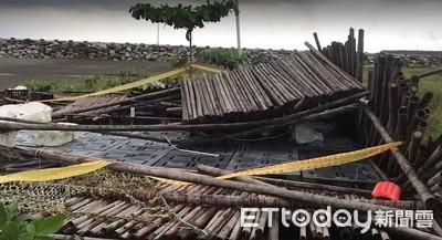 台南小五男童疑被倒塌竹棚壓死案 解剖多處壓傷