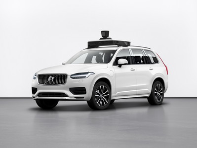 Volvo、Uber推出XC90自駕車