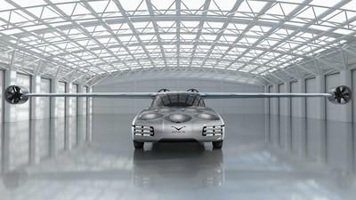NFT推出Aska油電飛行概念車