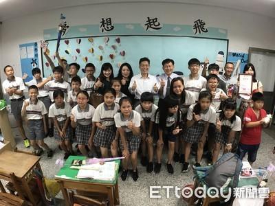 內新國小畢業班捐千元助兒福