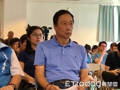 郭台銘譴責港警暴力手段「舊殖民思維」