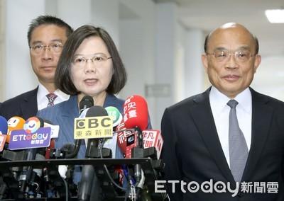 蘇貞昌:蔡英文已經是2.0版本