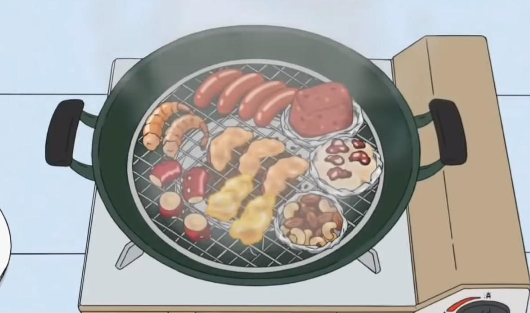▲▼卡通中的食物。(圖/翻攝自YouTube)