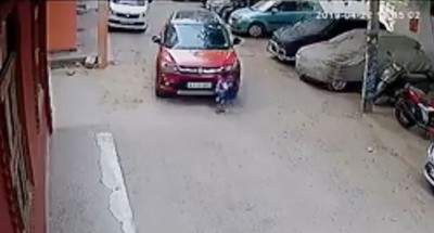 他開車著迷手機 輾死3歲侄子