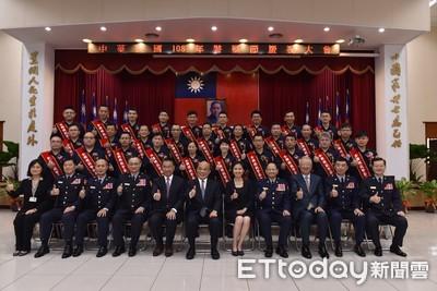 警察節表揚28位模範警 蔡英文親赴致詞