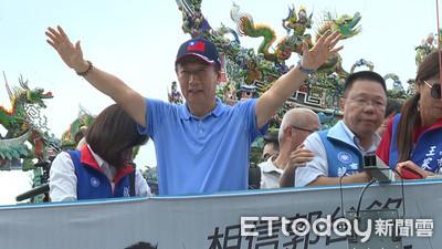 黃國昌點名郭台銘是「媒體大亨」
