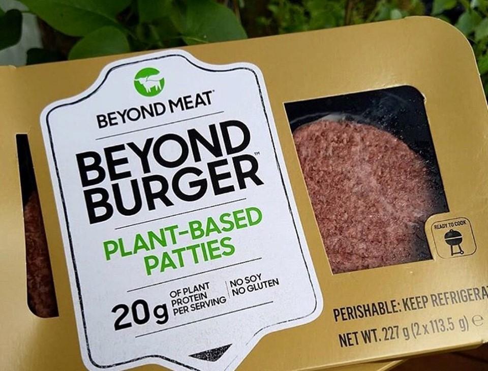 ▲▼美國研發出很逼真的素食肉。(圖/翻攝自Facebook/Beyond Meat)