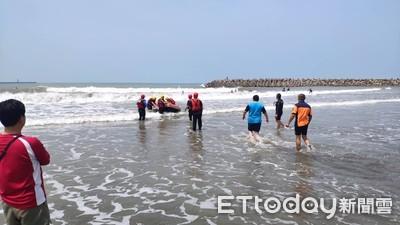 台南安平傳出溺水 消防人員全員救回