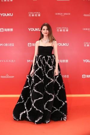 ▲▼昆凌出席上海電影節紅毯盛會。(圖/CFP)