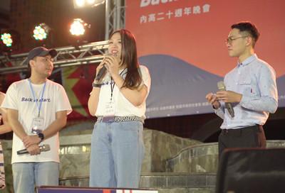 歌手潘裕文回母校演唱 學弟妹嗨翻天