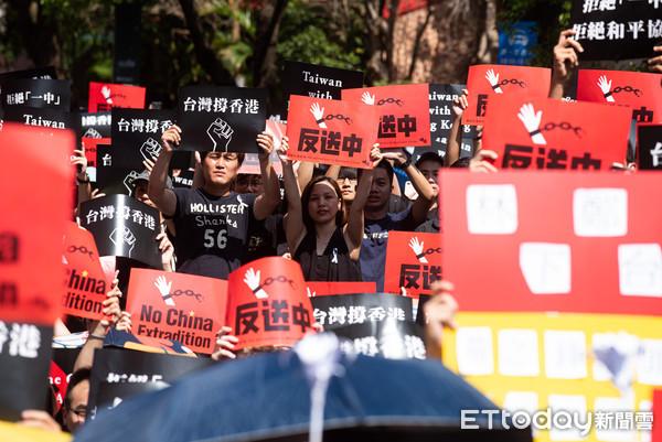▲▼616撐香港反送中遊行。(圖/記者季相儒攝)