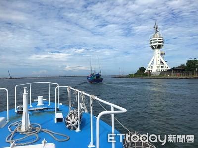 越南漁船越界捕魚裁罰百萬 海巡驅離出海