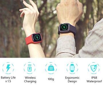 Apple Watch充電表帶 令續航增加27小時