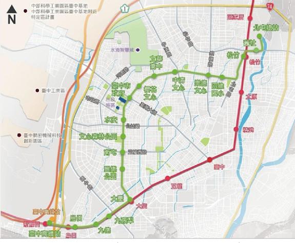 【廣編】台中雙捷運站將成形 總價不到500萬可入住(圖/公關提供)