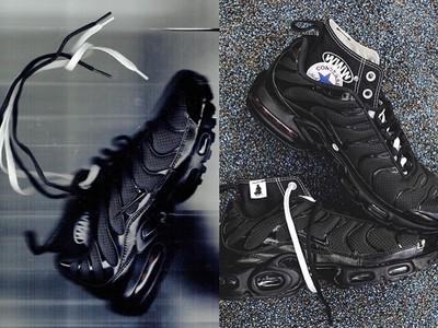 帆布鞋身融入黑魂跑鞋!