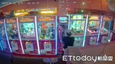 娃娃機兌幣箱遭竊損失約5萬元  心痛店家po網肉搜竊賊
