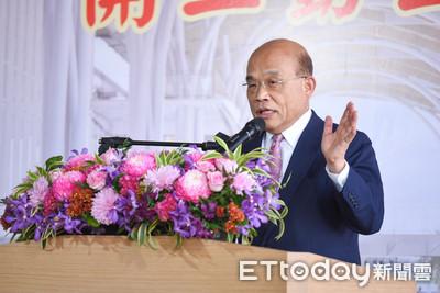 盧秀燕稱「政院沒給台中一毛錢」 蘇貞昌:為74號交流道就給46億