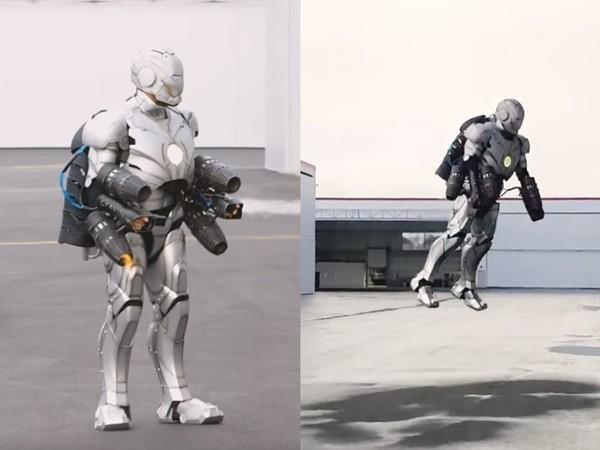 成為鋼鐵人不再是夢!工程師打造可實際飛行的「馬克2號」