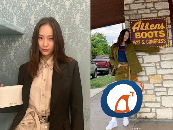 Krystal「粗腿發福照」瘋傳 最新近照曝光…網全傻了:OMG