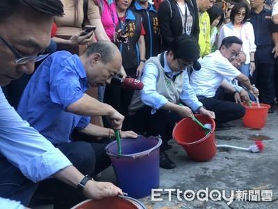 韓國瑜才去金獅湖市場刷桶子 高雄又1攤商染「第四型登革熱」