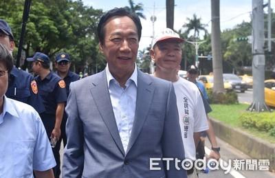 郭台銘:軍公教的苦我懂 當選總統會把福利尊嚴還給大家