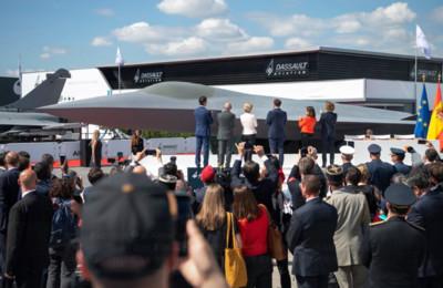 新6代戰機曝光 德法西合作推進