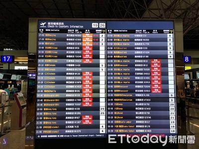 航班異動!長榮罷工第2天取消108航班