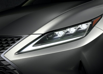 Lexus Bladescan最新頭燈技術