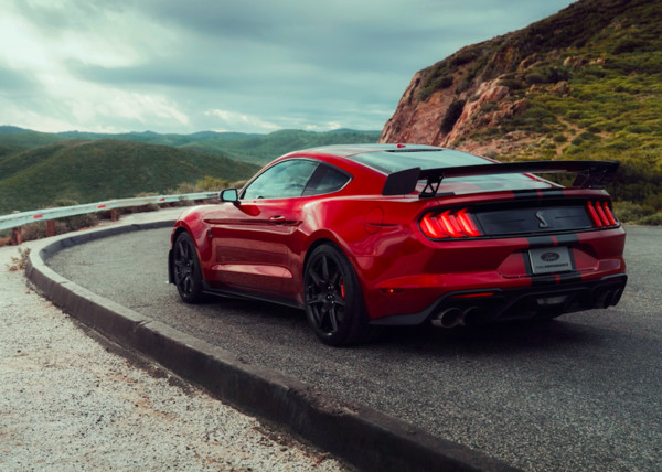 ▲2020 Mustang Shelby GT500野馬跑車。(圖/翻攝自Ford)