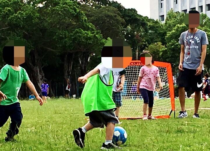 ▲▼足球課。(圖/小檸檬供稿專用)
