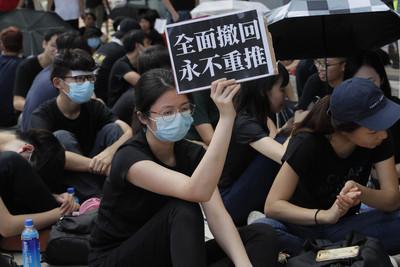 香港律政司長首次針對修例道歉
