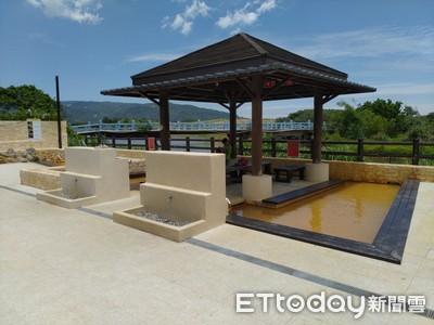 磺港公共浴室「金銀雙湯」重新開放
