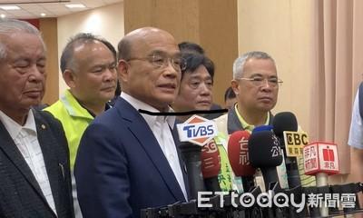 藍營酸是「競選總幹事」 蘇貞昌:讓人民有感是行政院長該做的事