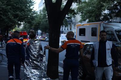 即/巴黎市中心大火 3死28傷