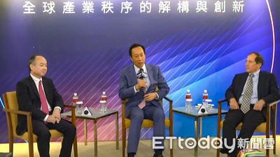 軟銀創辦人孫正義承諾 願貢獻投資心法擔任台灣勞退基金經理
