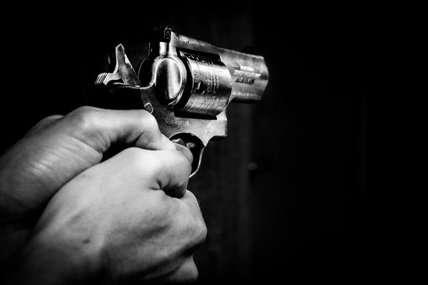 ▲▼手槍,槍擊,槍殺。(圖/取自Pixabay)
