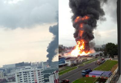 新加坡石油氣廠爆炸 陸籍員工1死2傷