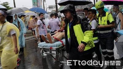 623凱道大遊行 3群眾不適送醫