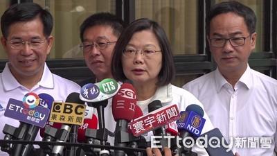 郭台銘嗆「施政無能」 蔡英文:台灣經濟穩定度第一