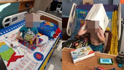 生病根本離不開床 他設計「遊戲床單」起身就能玩 搶救病童兒時笑顏