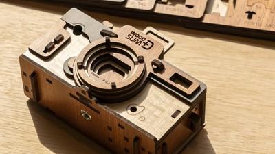 自己的相機自己裝!懷舊DIY針孔相機 找回暗箱顯像的感動