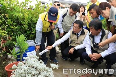 台南辦高風險農園登 革熱防治示範觀摩