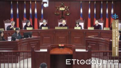 憲法法庭開庭 審理軍人年改