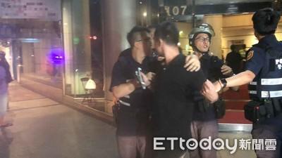 酒店內口角1人傷 63警強勢壓制