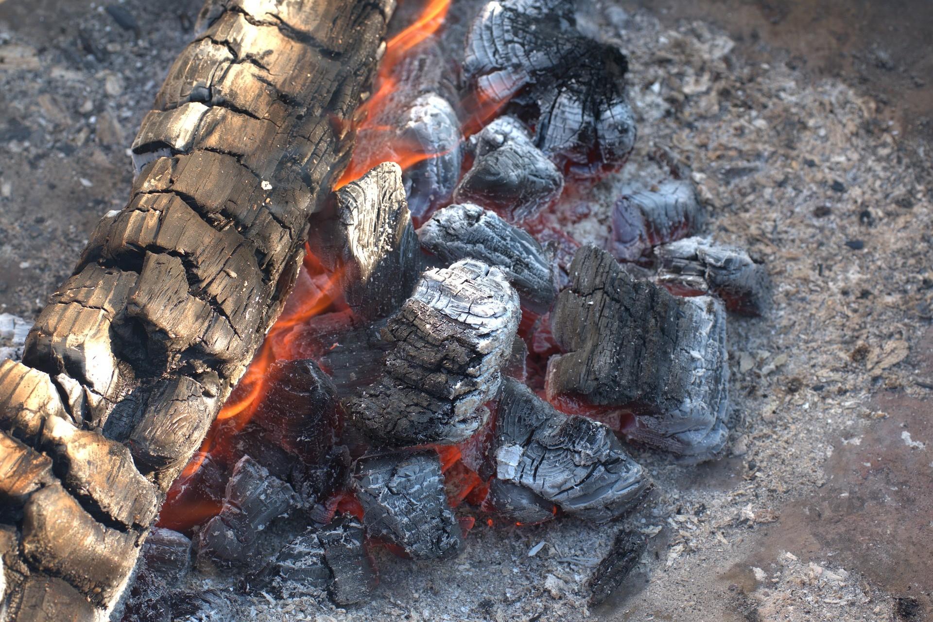 ▲木炭,火焰,烤肉,燃燒。(圖/取自免費圖庫Pixabay)