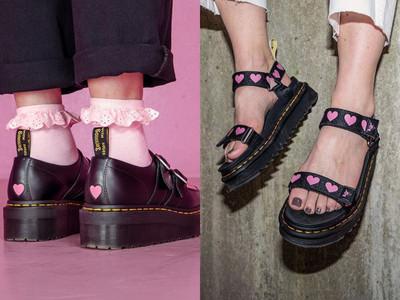 馬汀鞋聯名Lazy Oaf太夢幻