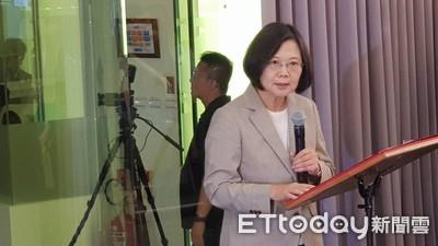 蔡英文:福衛七號是台灣太空科技發展里程碑