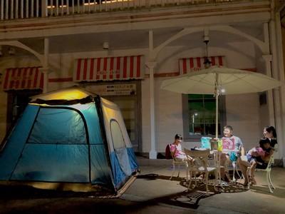 今夏最夢幻露營!夜宿樂園一晚