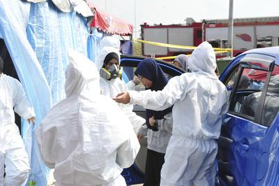大馬傳毒氣污染 475學校關閉
